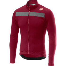 Castelli Puro 3 Full-Zip Jersey Men matador red